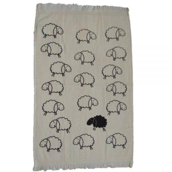 Кухненска кърпа с десен Агънца 1