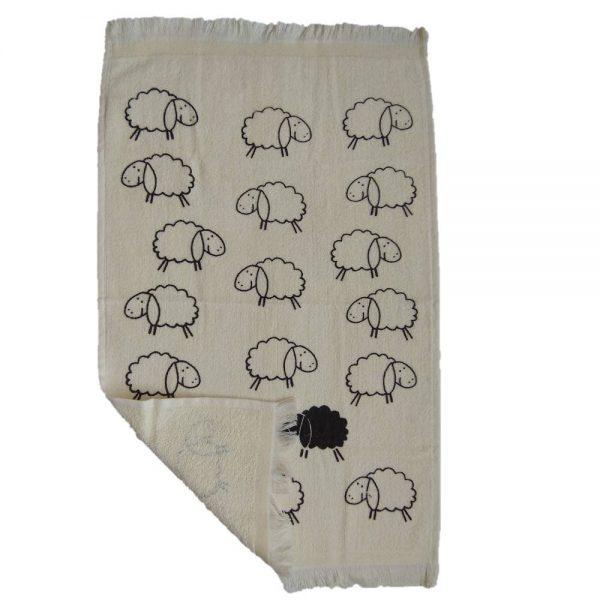 Кухненска кърпа с десен Агънца