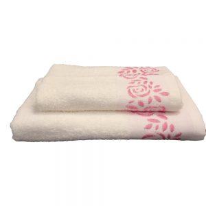 Комплект 2 кърпи Крем